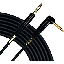 Gold Instrument Cable Angled - Straight Cable 25 ft.