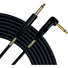 Gold Instrument Cable Angled - Straight Cable 3 ft.