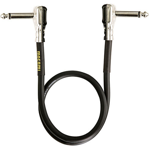 Mogami Gold Instrument Pancake Patch Cable 18 in.
