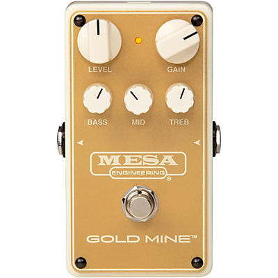 Mesa Boogie Gold Mine Overdrive Effects Pedal