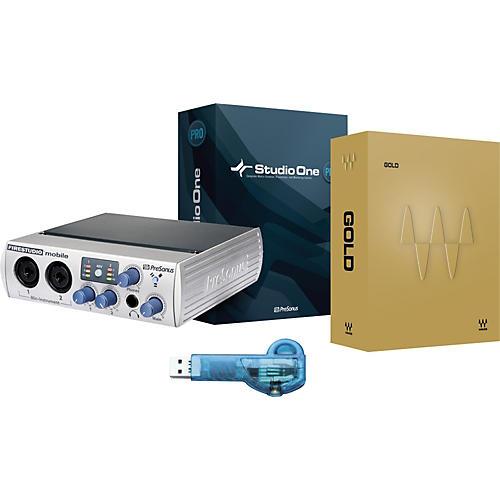 Waves Gold Native + Presonus FireWire Mobile + Studio One Upgrade + Ilok Key