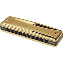Gold Promaster Valved Harmonica A