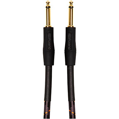 """Roland Gold Series 1/4"""" Straight/Straight Instrument Cable"""