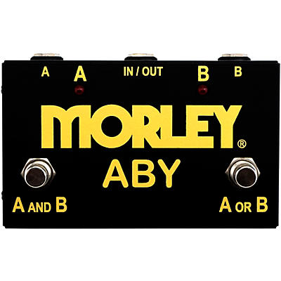 Morley Gold Series ABY Switcher