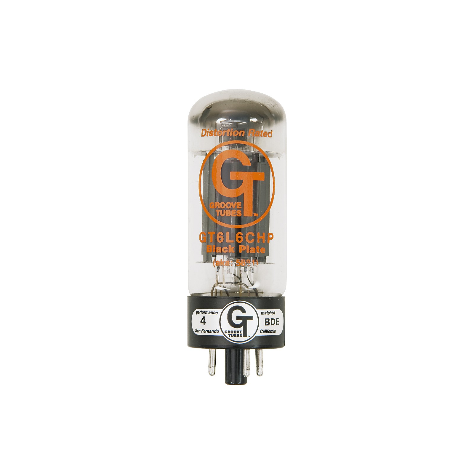 Groove Tubes Gold Series GT-6L6-CHP Matched Power Tubes