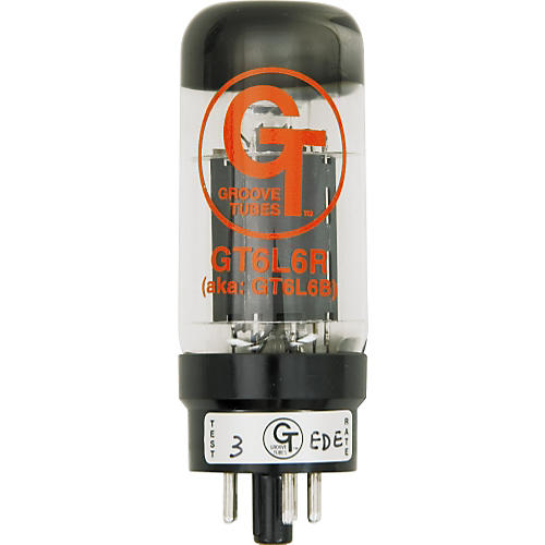 Groove Tubes Gold Series GT-6L6-R Matched Power Tubes