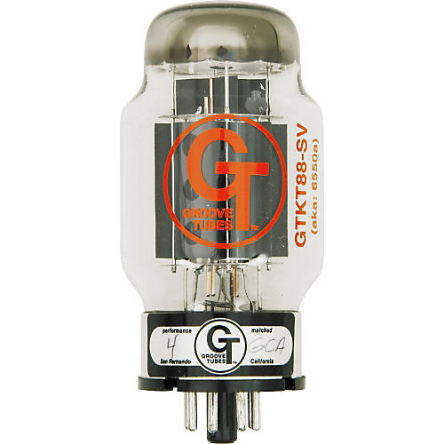 Groove Tubes Gold Series GT-KT88-SV Matched Power Tubes