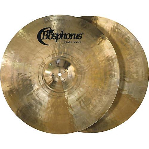 Bosphorus Hi Hat Cymbals : bosphorus cymbals gold series hi hat cymbal pair musician 39 s friend ~ Vivirlamusica.com Haus und Dekorationen