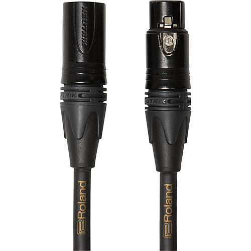 Roland Gold Series Quad Microphone Cable 3 ft.