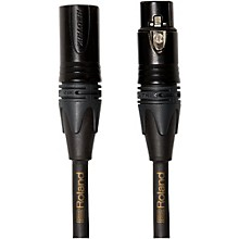 Gold Series XLR Microphone Cable 10 ft. Black