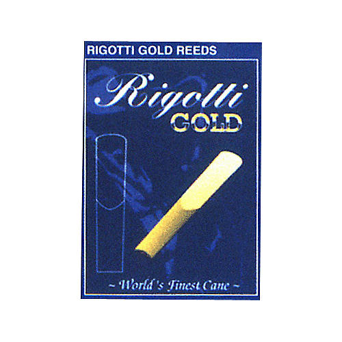 Rigotti Gold Soprano Saxophone Reeds Strength 3.5 Medium
