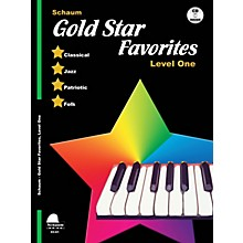 SCHAUM Gold Star Favorites (Level 1) Educational Piano Book with CD (Level Elem)