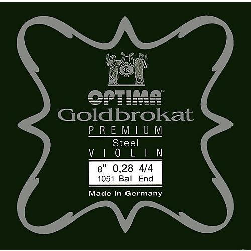 Optima Goldbrokat Premium Series Steel Violin E String