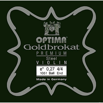 Optima Goldbrokat Premium Series Steel Violin E String