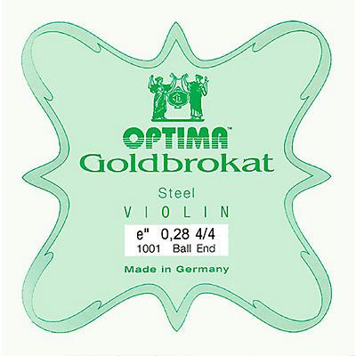 Optima Goldbrokat Series Steel Violin E String