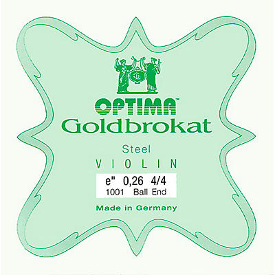 Optima Goldbrokat Series Steel Violin E String