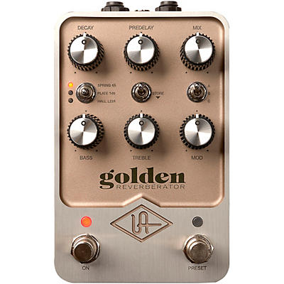 Universal Audio Golden Reverberator Effects Pedal