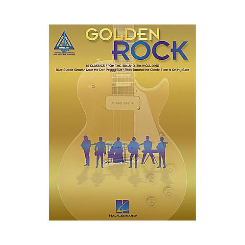 Hal Leonard Golden Rock Guitar Tab Book
