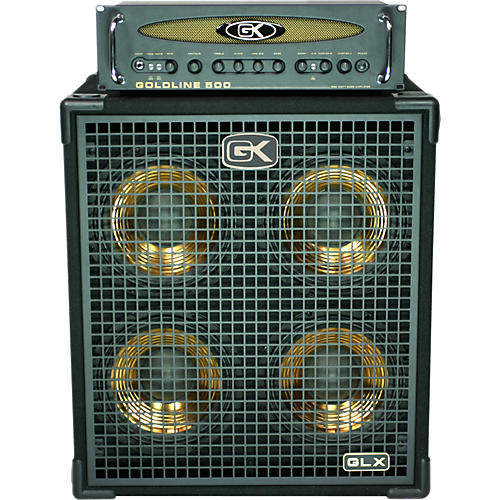 Gallien-Krueger Goldline 500 Bass Head and 4x10 Bass Cabinet Package