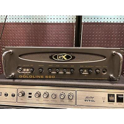 Gallien-Krueger Goldline 500 Tube Bass Amp Head