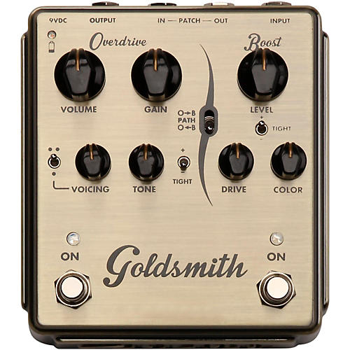 Egnater Goldsmith Overdrive/Boost Guitar Effects Pedal Condition 1 - Mint