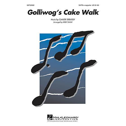 Hal Leonard Golliwogg's Cake Walk SATB a cappella arranged by Kirby Shaw