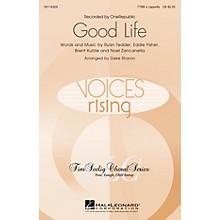 Hal Leonard Good Life TTBB by OneRepublic arranged by Deke Sharon