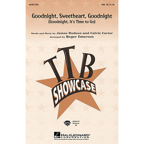 Hal Leonard Goodnight, Sweetheart, Goodnight ShowTrax CD Arranged by Roger Emerson