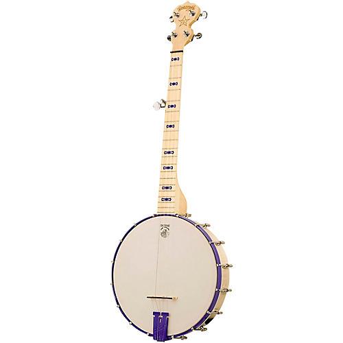 Deering Goodtime Jr. Openback Banjo Sinbad Purple