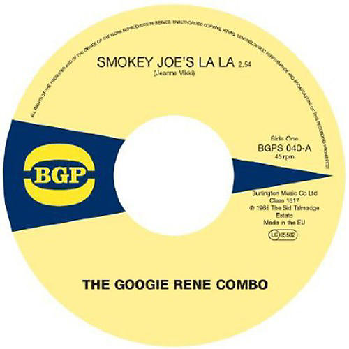 Alliance Googie Rene Combo - Smokey Joe's la la / Hot Barbeque