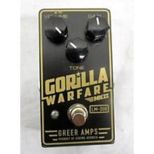 Greer Amplification Gorilla Warfare MK2 Effect Pedal