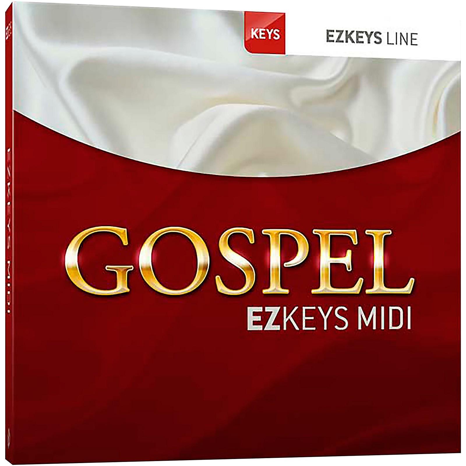 Toontrack Gospel EZKeys MIDI (Download)