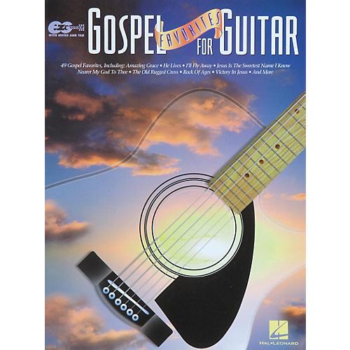 Hal Leonard Gospel Favorites for Guitar