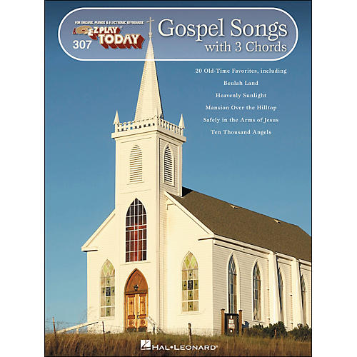 Hal Leonard Gospel Songs with 3 Chords E-Z Play 307