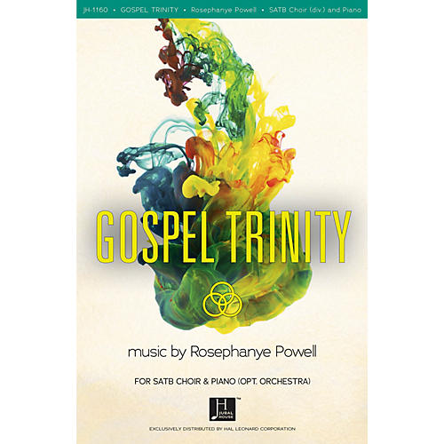 Fred Bock Music Gospel Trinity SATB composed by Rosephanye Powell