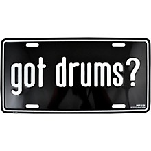 AIM Got Drums License Plate