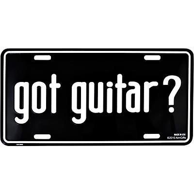 AIM Got Guitar? License Plate