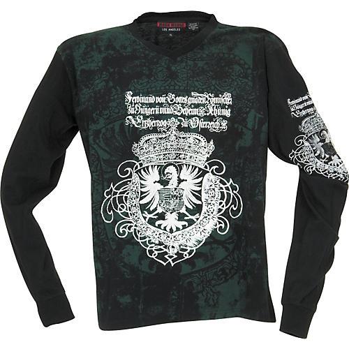 Rock House Los Angeles Goth Eagle Long-Sleeve T-Shirt