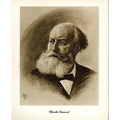 Music Sales Gounod (Lupas Small Portrait Poster) Music Sales America Series