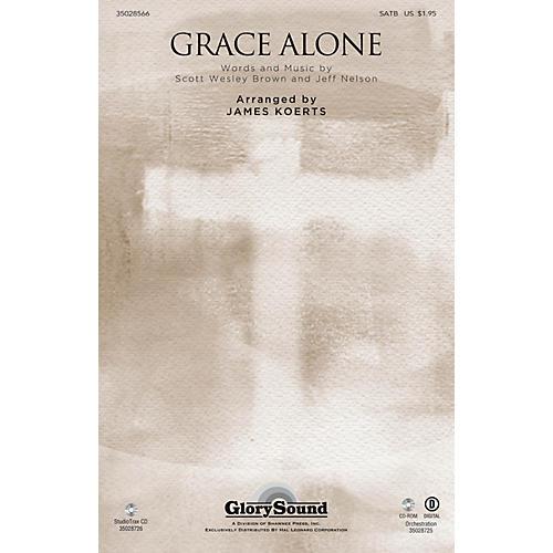 Shawnee Press Grace Alone Studiotrax CD Arranged by James Koerts