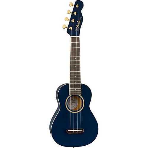 Fender Grace VanderWaal Moonlight Soprano Ukulele Navy Blue
