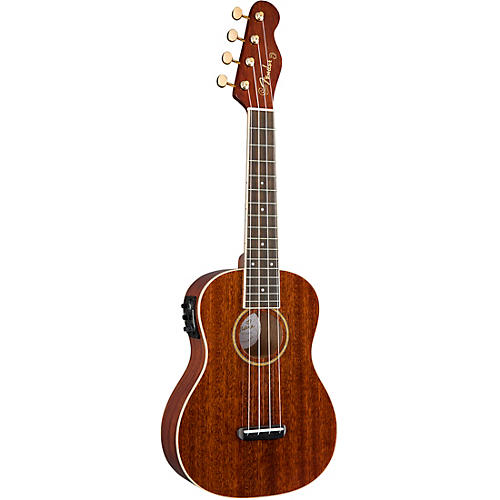Fender Grace VanderWaal Signature Acoustic-Electric Ukulele Walnut