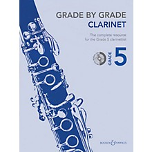 Boosey and Hawkes Grade by Grade - Clarinet (Grade 5) Boosey & Hawkes Chamber Music Series BK/CD