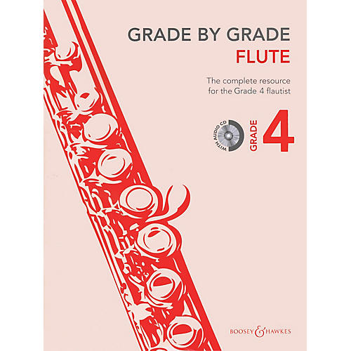 Boosey and Hawkes Grade by Grade - Flute (Grade 4) Boosey & Hawkes Chamber Music Series Softcover with CD
