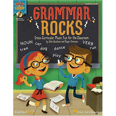Hal Leonard Grammar Rocks! Book/Listening CD