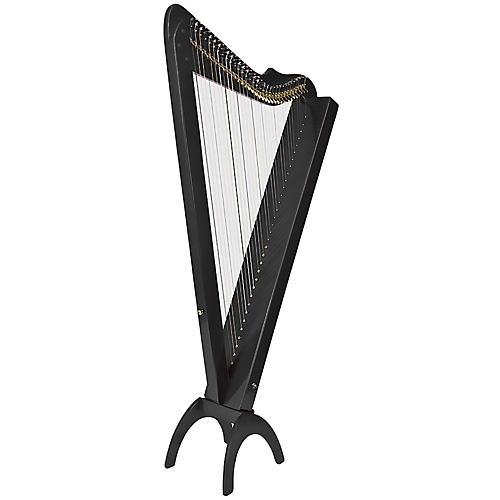 Rees Harps Grand Harpsicle Harp Black
