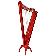 Grand Harpsicle Harp Red