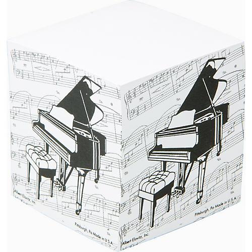 Gear One Grand Piano Memo Cube