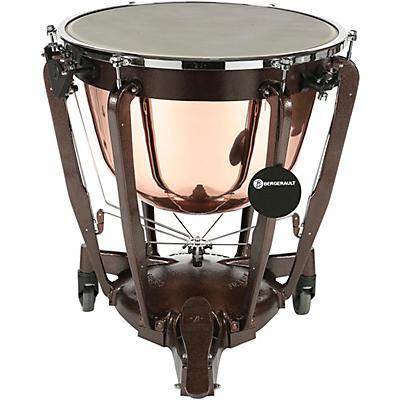 Bergerault Grand Professional Series Cambered Polish Copper Bowl Timpani