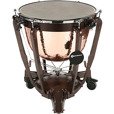 Bergerault Grand Professional Series Hand-Hammered Cambered Copper Bowl Timpani